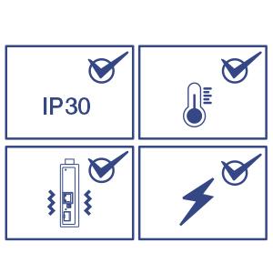 Industrial media converter, hardened media converter, DIN-rail media converter, poe switches