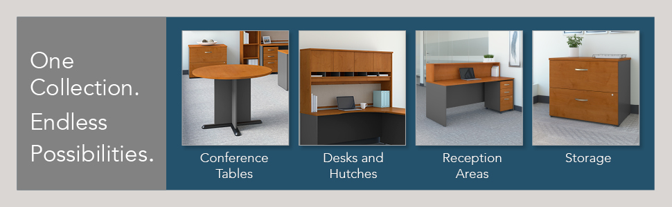 """Boss Office Holland 71/"""" Race Track Conference Table in Mocha"""