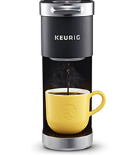 k-mini plus, kmini, mini brewer, coffee maker, coffeemaker, coffee machine, keurig, kuerig