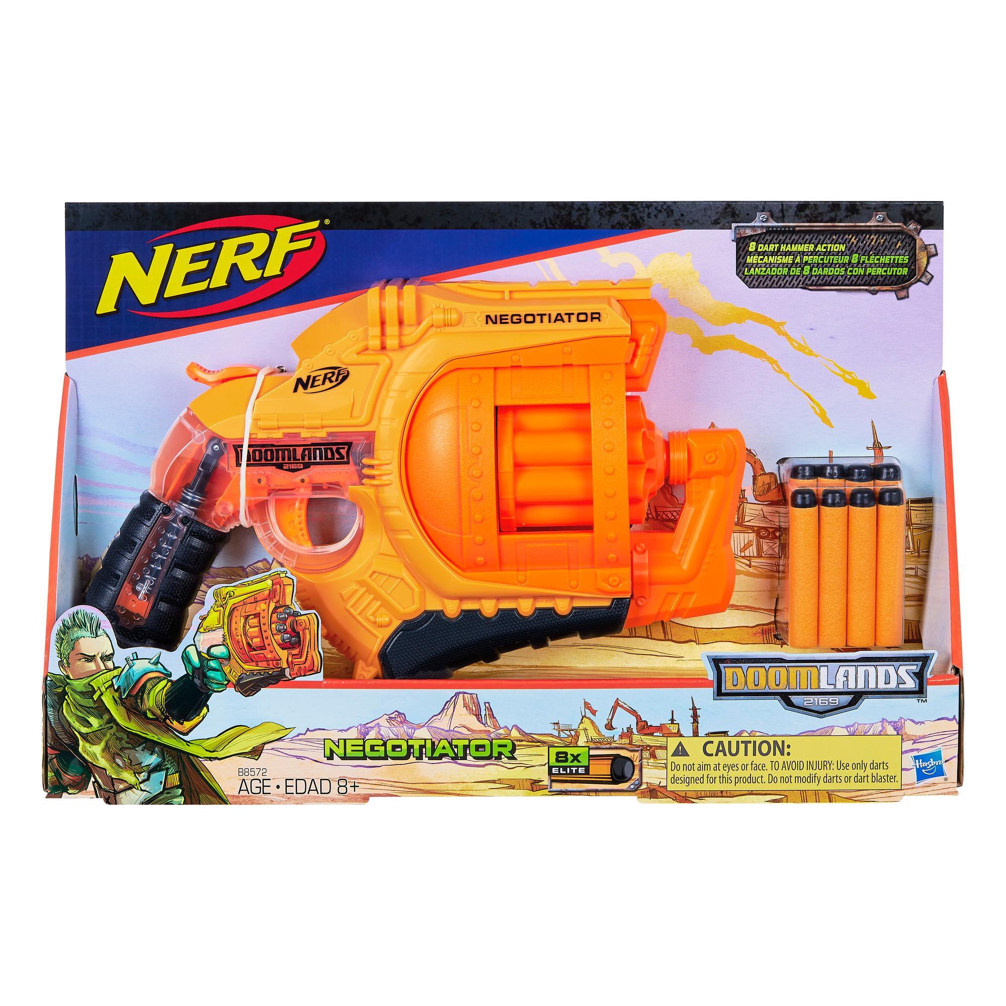Walmart Toy Guns For Boys : Amazon nerf doomlands negotiator blaster toys