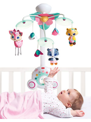 Tiny Love, Mobiles, Soothers;Tiny Princess;Soothe 'n Groove Mobile;module 2;product image