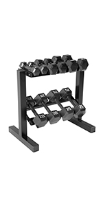 abd33b96761 weights · dumbbells · weight set · weights · CAP Cast Iron Hex ...