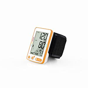 Choice Wrist Blood Pressure Monitor, wrist size 5.3 to 8.5, 2 users, 60 reading memory
