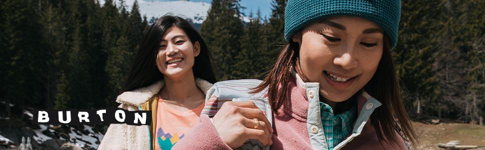burton women fleece apparel warm winter