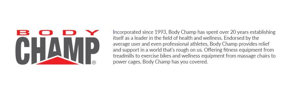 Body Champ 2 in 1 Cardio Dual Trainer