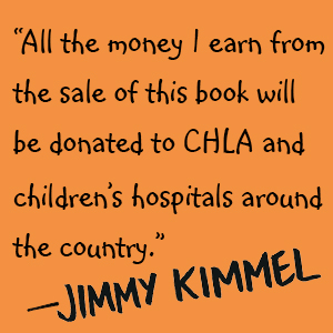 funny kids books, funny baby books, celebrity books, jimmy kimmel live, serious goose book