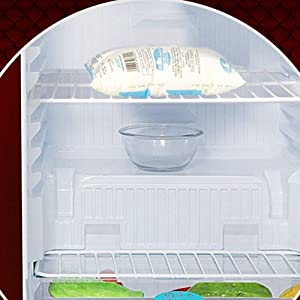 godrej fridge cooling red