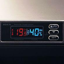 LCD温湿度表示操作パネル
