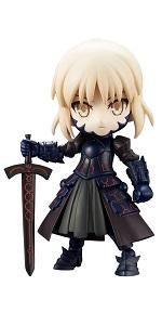 キューポッシュ Fate/Grand Order セイバー/アルトリア・ペンドラゴン〔オルタ〕 ノンスケール PVC製 塗装済み可動フィギュア