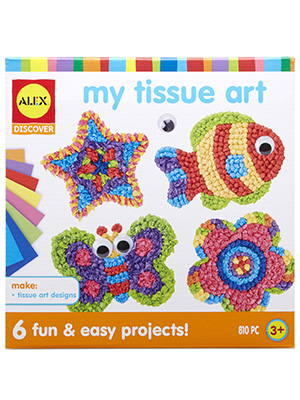 Amazon Com Alex Discover My Tissue Art Toys Games