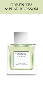 Vera Wang Embrace Body Mist for Women Green Tea and Pear Blossom Scent 8 Fluid Oz. Body Mist Spray