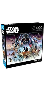 The Force is with You, Young Skywalker - 1000 Piece Jigsaw Puzzle
