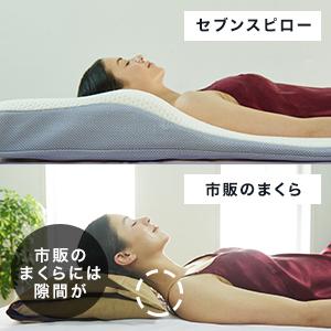 トゥルースリーパー セブンスピロー 枕 まくら 低反発 頭 首 背中 人間工学 ボディフィットカーブ