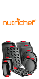 Nonstick Bakeware Set;Baking Tray; Oven;Pizza Loaf Muffin;Cookie Sheet;Non Stick;Bakeware Set