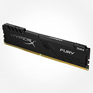 HyperX Fury DDR4, Kit 4 x 8 GB, 2400 MHz, CL15, DIMM XMP, HX424C15FB2K4//32 Memoria RAM de 32 GB Color Negro