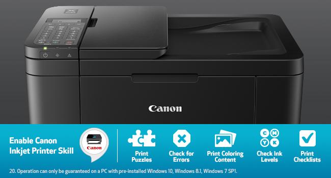 Canon PIXMA TR4520 Wireless All in One Photo Printer with Mobile Printing, Black, Amazon Dash Replenishment Enabled