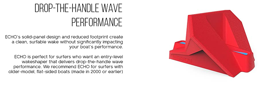 drop-the-handle wave performance