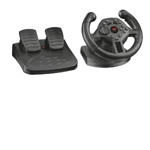 Trust GXT 570 - Volante Gaming de Competición con Respuesta de Vibración para Pc y Ps3, Negro: No Name: Amazon.es: Informática