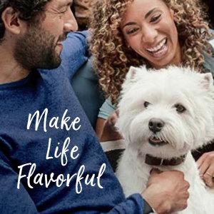 Make Life Flavorful, Tasty Dog Food, Wet Dog Food, Moist Dog Food, Dog Food Soft