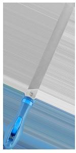 Pferd Universal-Schärffeile mit Heft 200 mm H2