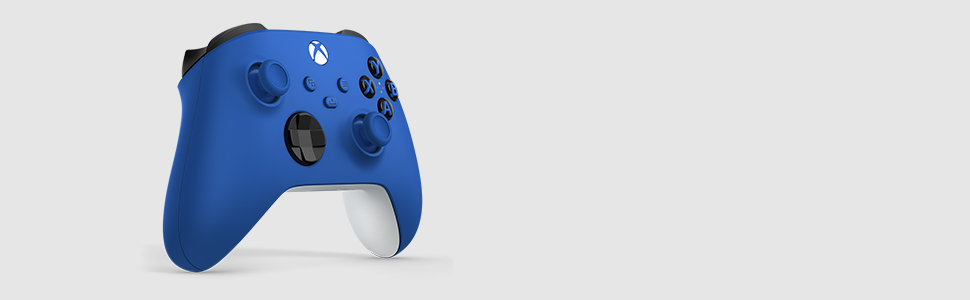 Manette sans fil Xbox – Shock Blue