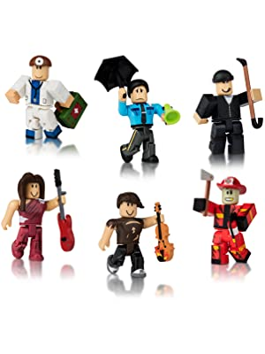 Amazon Com Roblox Action Collection Citizens Of Roblox Six
