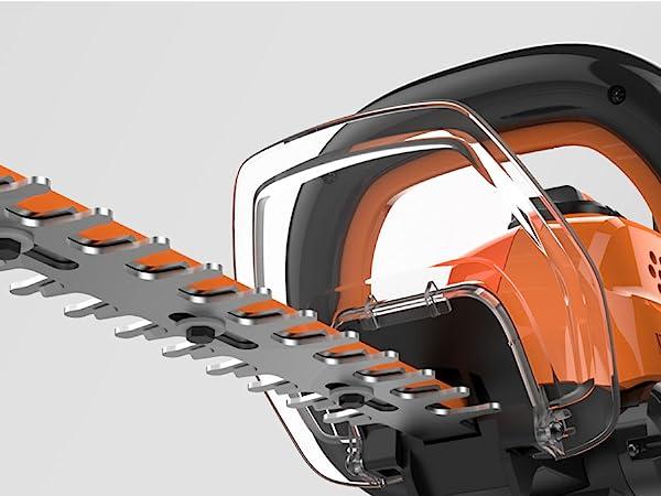 WORX WG284 40V Power Share Cordless 24 Hedge Trimmer w/Cordless ...