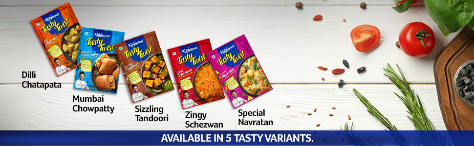 kohinoor tasty twist, kohinoor masala, tandoori masala, tandoori, tikka masala, chicken masala