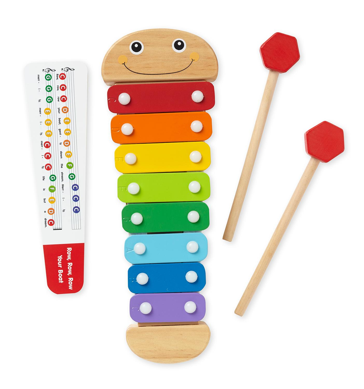 Amazon Melissa & Doug Caterpillar Xylophone Musical Toy With