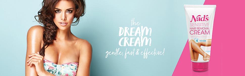 nads sensitive hair removal body cream