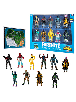 fortnite figure pack collectible