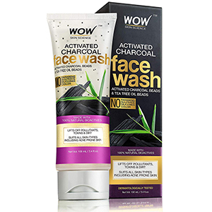 Wow Activated Charcoal Face Wash