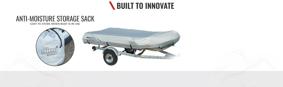 New Heavy Duty Waterproof RIB Inflatable Boat Cover Fit to 11.5/' Beam Width 70/'/'