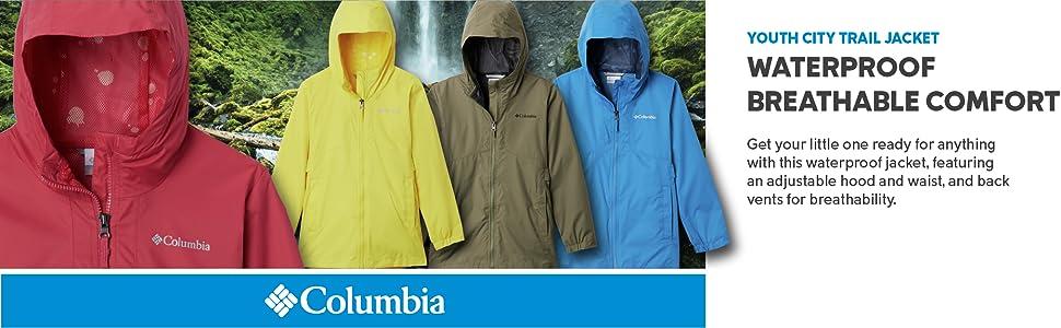 Columbia Youth Girls City Trail Jacket
