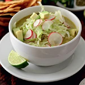 POZOLE VERDE DE POLLO (Green Pozole with Chicken)