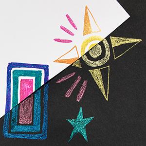sparkle pop color paper