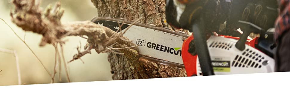GREENCUT GGT650X-2 - Desbrozadora de gasolina de 65cc y 4,9cv 2 en 1 con Potente Disco 3 puntas, cabezal de hilo y Arnés, con Barra Divisible: Amazon.es: Jardín