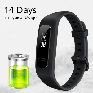 fitness tracker watch with long working time