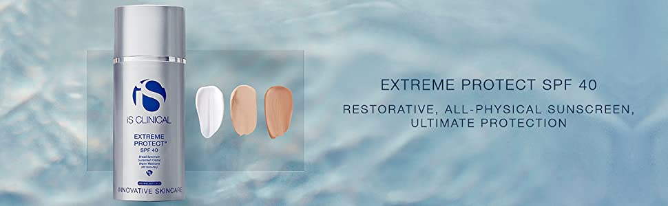 extreme protect SPF 40, SPF, protection, skin, photodamage