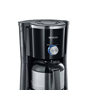 Severin KA 4840 Cafetera TypeSwitch, 1000 W, 1 L, acero inoxidable ...
