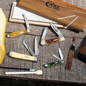 Case Knives, Cleaning case knives, knife cleaning, case knife care, case care, case product care