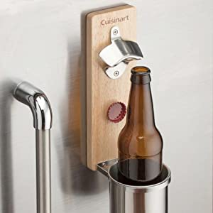 BOTTOMS UP Beer Bottle Opener Wall Mount Starr X Sturdy Drinking Party Bar Decor