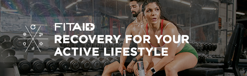 FITAID RECOVER RECOVERY BLEND CITRUS POST-WORKOUT CLEAN 45 CALORIES NATURAL HEALTHY LIFEAID