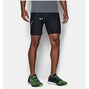 92efbc3c87d1a Run True Heatgear Half Tight Men's Short: Amazon.co.uk: Sports ...