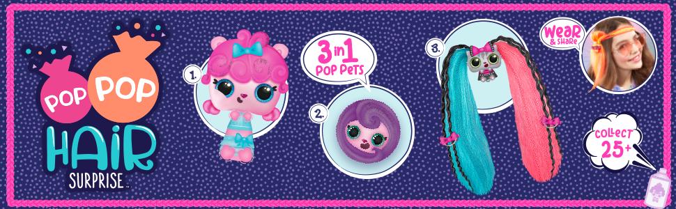 Pop Pop Hair; popophair; hairdoobles; hair brush