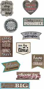 Home Sweet Classroom Positive Sayings Clingy Thingies Accents
