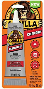 Gorilla Clear Grip Contact Adhesive
