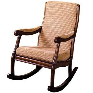 Amazon.com: Furniture of America Betty Rocking Chair