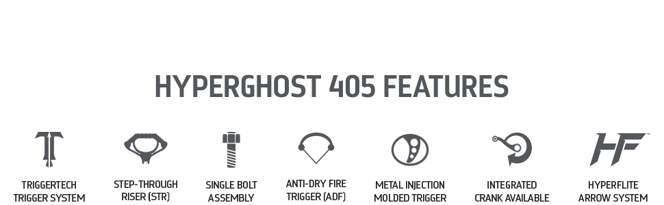 Barnett HyperGhost 405 Features