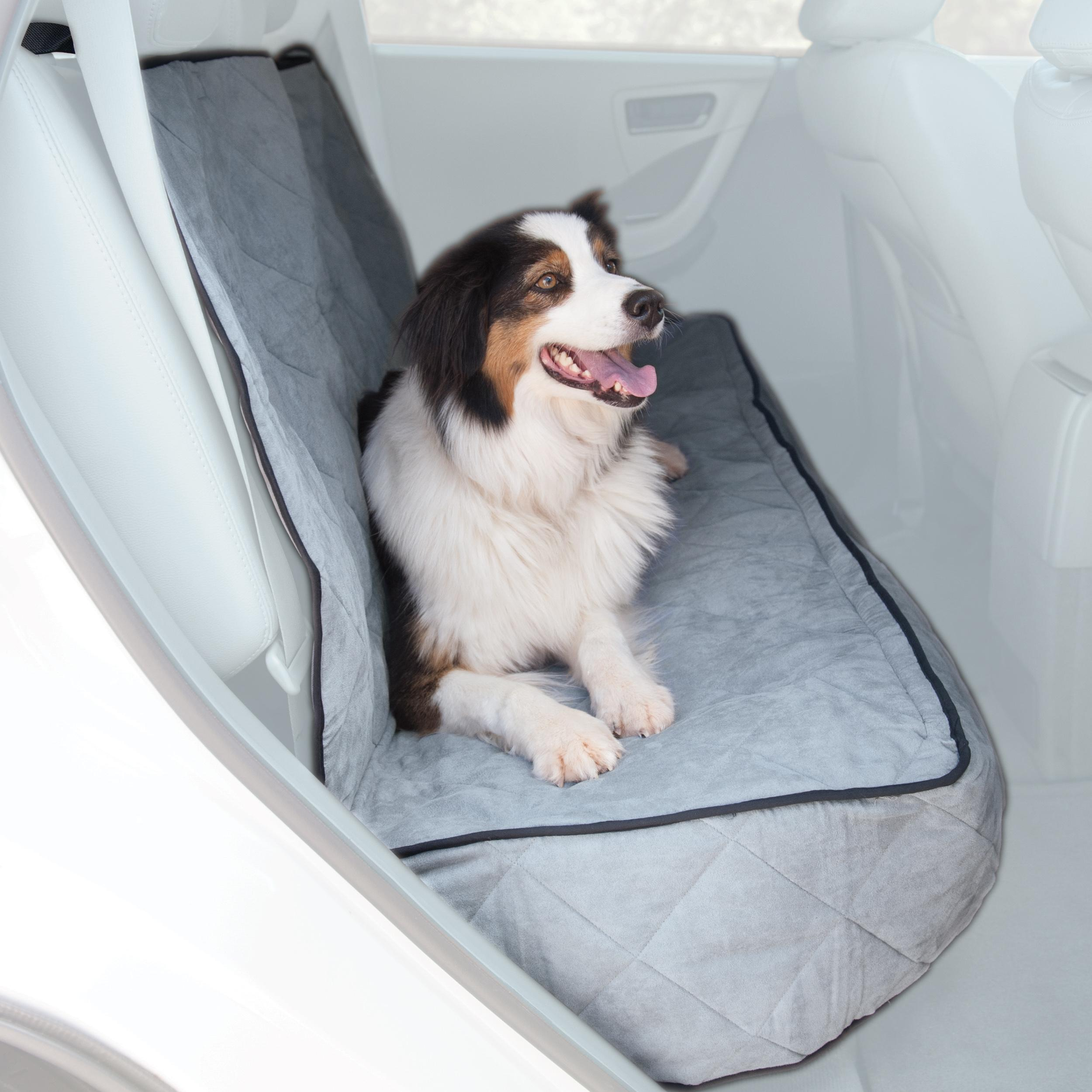 Amazon.com : K&H Pet Products Quilted Car Pet Seat Cover & Protector ...